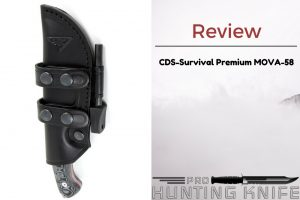 CDS-Survival Premium MOVA-58 Hunting Knife Review