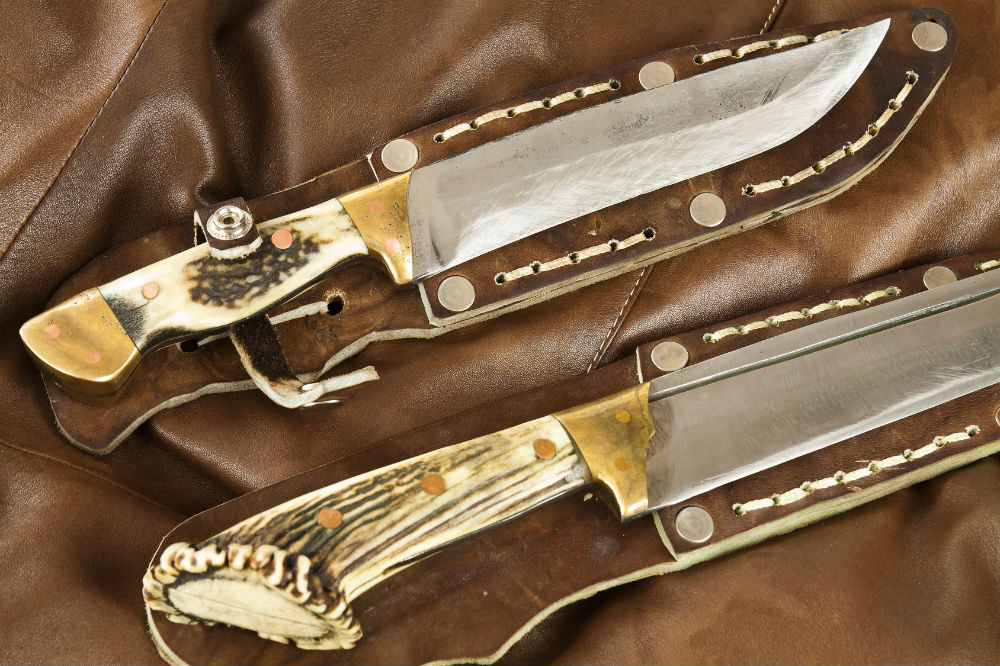 Perkins Knives J2 Steel Handmade Hunting Knife