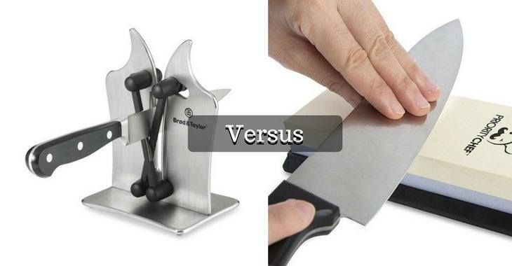 Knife Sharpener Vs Whetstone